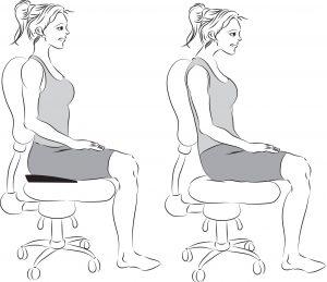 right sitting